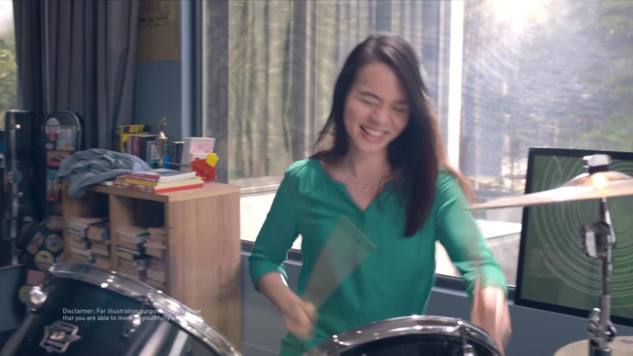 ANLENE - MOVE AS YOUNG AS YOU FEEL - DRUMMER<br><br>
