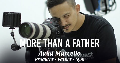 "DO MORE, BE MORE, WITH ANLENE<sup>TM</sup>.<br><span style="""">AIDID MARCELLO IS MORE THAN A FATHER.</span>"