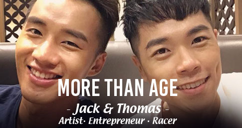 "DO MORE, BE MORE, WITH ANLENE<sup>TM</sup>.<br><span style="""">THOMAS & JACK ARE MORE THAN THEIR YOUNG AGE.</span>"