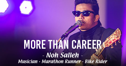"DO MORE, BE MORE, WITH ANLENE<sup>TM</sup>.<br><span style="""">NOH SALLEH IS MORE THAN A ROCKSTAR.</span>"