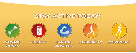 Stay active today